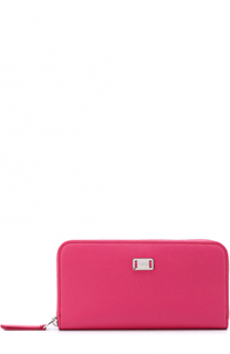 Кожаное портмоне на молнии с логотипом бренда Tod's Tods