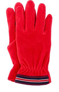 Перчатки с контрастной отделкой Moncler Enfant