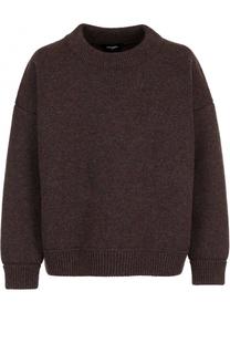 Шерстяной свитер свободного кроя Dsquared2