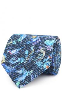 Шелковый галстук с принтом Eton