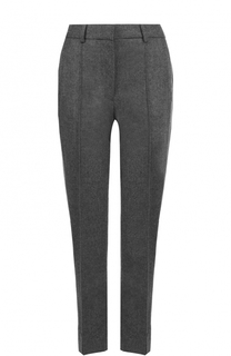 Укороченные шерстяные брюки с лампасами Victoria by Victoria Beckham