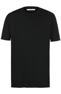 Хлопковая футболка с круглым вырезом Damir Doma