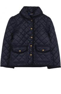 Стеганая куртка с окантовкой Polo Ralph Lauren