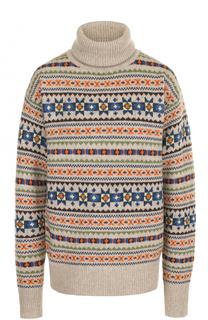 Шерстяной свитер с разрезами на рукавах Joseph