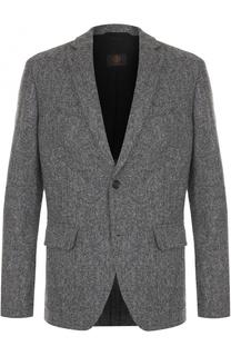 Шерстяной однобортный пиджак Bogner