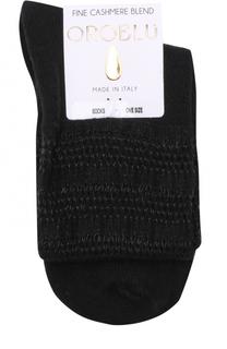 Носки фактурной вязки Oroblu