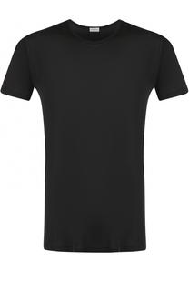 Шелковая футболка с круглым вырезом Zimmerli