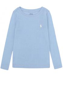 Лонгслив с логотипом бренда Polo Ralph Lauren