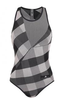 Спортивное боди без рукавов Adidas by Stella McCartney