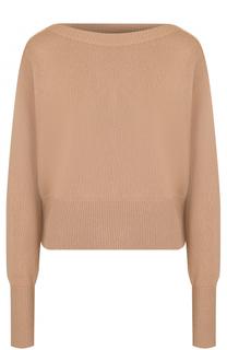Кашемировый пуловер с вырезом-лодочка Theory