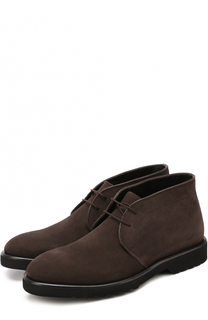 Замшевые ботинки на шнуровке Aldo Brue