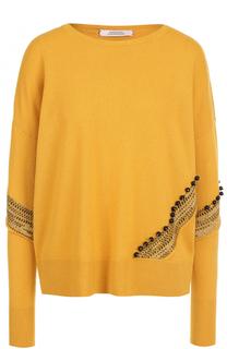 Кашемировый пуловер с круглым вырезом Dorothee Schumacher