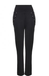 Хлопковые брюки с эластичным поясом и карманами Dorothee Schumacher