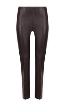 Укороченные кожаные брюки со стрелками Dorothee Schumacher