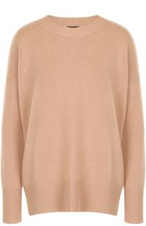 Кашемировый пуловер с круглым вырезом Theory