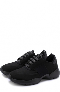 Текстильные кроссовки на шнуровке O.X.S.