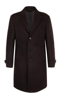 Однобортное шерстяное пальто Ermenegildo Zegna
