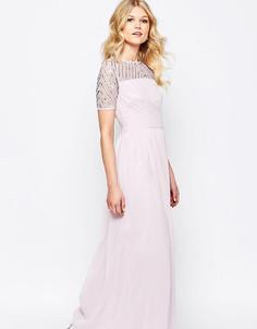 Шифоновое платье макси Maya Petite - Фиолетовый