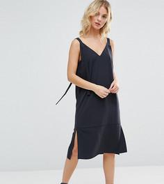 Платье-комбинация ASOS PETITE - Серый