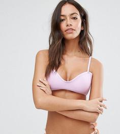 Комбинируемый пастельный бикини-топ South Beach - Фиолетовый