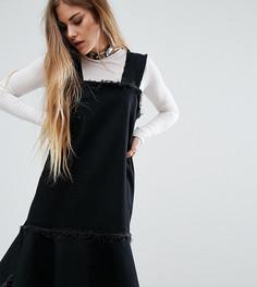 Джинсовое платье Reclaimed Vintage - Черный