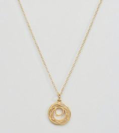 Ожерелье с подвеской  Сакральная чакра Ottoman Hands - Золотой