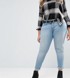 Супероблегающие корректирующие джинсы Levis Plus 310 - Синий