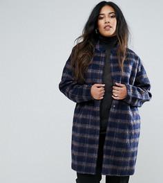 Пальто в клетку Junarose Plus - Мульти
