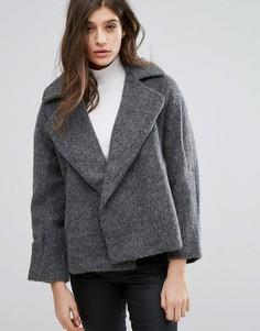 Укороченная куртка с широкими лацканами Native Youth - Серый
