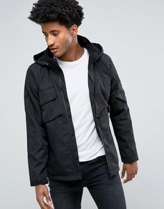 Куртка с капюшоном Bellfield - Черный