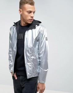 Двусторонняя куртка Calvin Klein Jeans - Серебряный