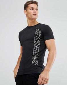 Футболка с логотипом Calvin Klein - Черный