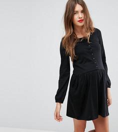 Платье на пуговицах Mamalicious - Черный Mama.Licious