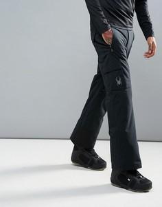 Горнолыжные брюки Spyder Troublemaker - Черный