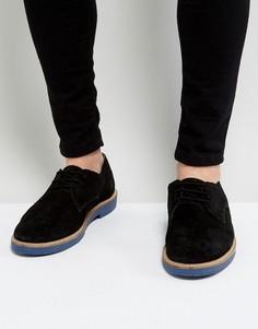 Черные туфли дерби с контрастной подошвой KG By Kurt Geiger - Черный