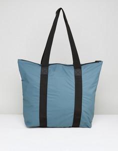 Маленькая сумка тоут Rains - Зеленый