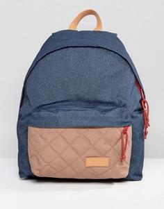 Стеганый рюкзак объемом 24 литра Eastpak Padded PakR - Темно-синий