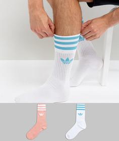 2 пары носков adidas Originals BQ5989 - Мульти