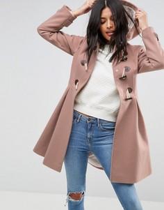 Пальто-дафлкот ASOS - Розовый