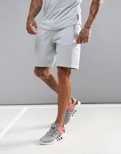 Флисовые шорты adidas X Reigning Champ BR0458 - Светло-серый