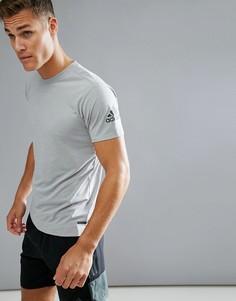 Серая футболка adidas Training Freelift BR4150 - Серый