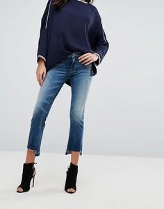 Укороченные джинсы Replay - Синий