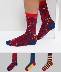 Подарочный набор с 3 парами носков Diesel - Мульти
