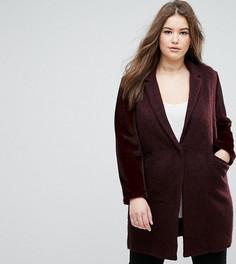 Пальто бойфренда Elvi - Красный