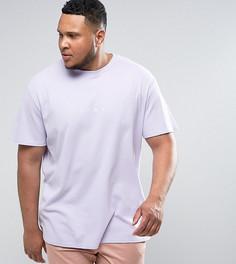 Фиолетовая oверсайз-футболка из вафельного трикотажа Puma PLUS эксклюзивно для ASOS - Фиолетовый