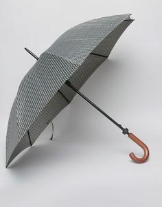 Зонт с принтом Fulton Huntsman - Зеленый