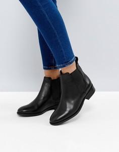 Кожаные ботинки челси Office Bramble - Черный