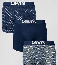 Подарочный набор из 3 боксеров-брифов Levis - Синий Levis®