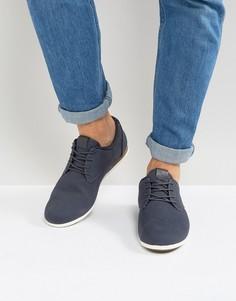 Темно-синие туфли на шнуровке ALDO Aauwen - Темно-синий