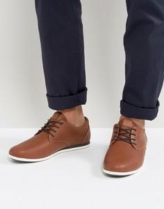 Светло-коричневые туфли со шнуровкой ALDO Aauwen - Рыжий